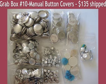 DESTASH,Grab Box,Manual Button Covers,Button shells,button supplies, aluminum covers
