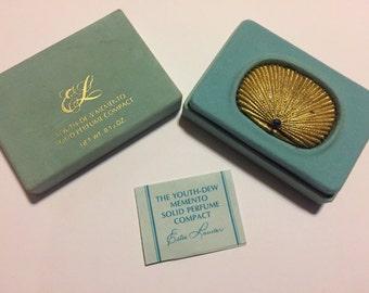 Vintage Estée Lauder perfume compact