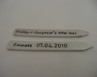 Collar straighteners, daddy a son's first hero, daughter's first love, personalise, father's day