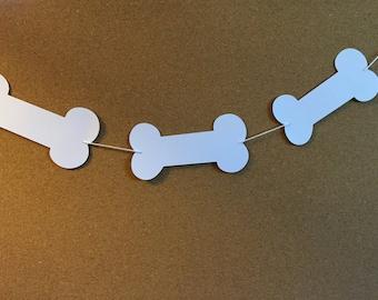 Bone garland, baby shower garland, Bone garland, Doggie party garland, birthday banner