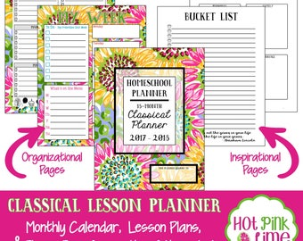 Classical Homeschool Planner  **DIGITAL DOWNLOAD**