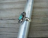 Custom Sterling Silver and Turquoise Ring for Judy