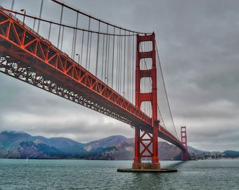 Golden Gate Bridge #5 Photo Print