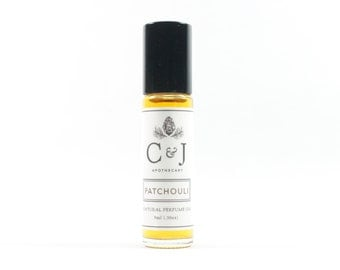 Patchouli Perfume Oil, Natural Perfume, Botanical Perfume, Essential Oil Perfume
