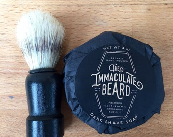 Shave Wholesale Mini Retail Starter Pack, Immaculate Beard, shave soap, shave brush, wholesale, mens starter pack, grooming, Father, dad
