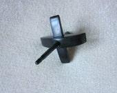 Midge Turkish Spindle in Black Rocklite - 15g
