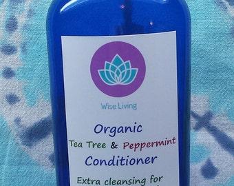 Organic Tea Tree & Peppermint Conditioner/Dandruff Conditioner/Oily Hair Conditioner
