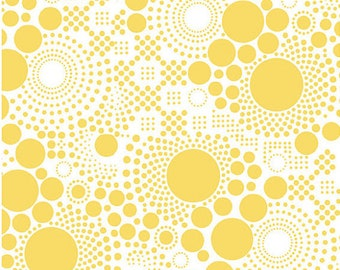 Yellow Pop by Riley Blake Designs - Fat Quarter Cut - Yellow Fabric - Cotton Fabric