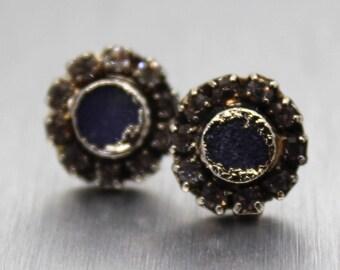SALE ON SALE druzy earrings, druzy studs, druzy stud earrings, silver earrings, silver studs, sterling silver, crystal earrings, crystal stu