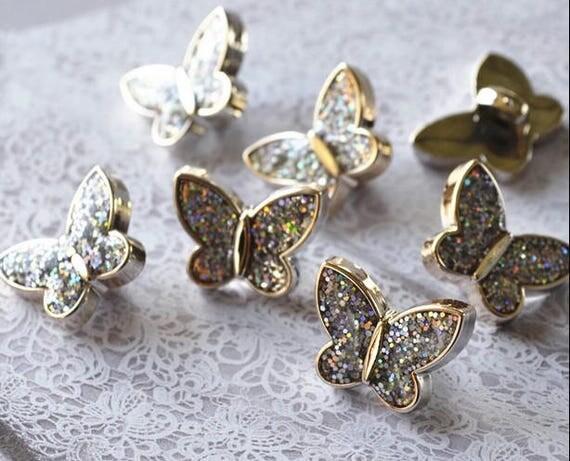 10pcs Gold button decoration button clothing accessories