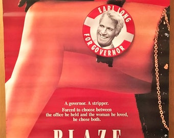 Mini Movie Poster, Blaze with Paul Newman.