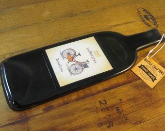 La Bollina Beneficio Flattened Wine Bottle