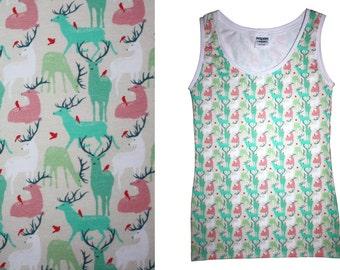 deer nightwear undershirt cotton unique handmade Berlin