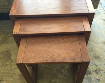 Nesting Tables Etsy