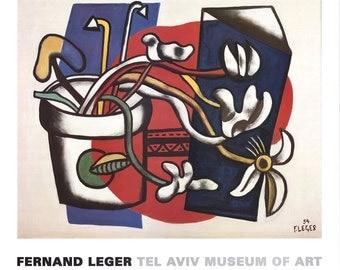 Fernand Leger-Flowers in a Vase-1994 Poster
