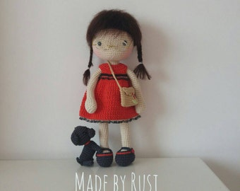 Amigurumi Crochet Doll Lily by Rusi Dolls by RusiDolls on Etsy
