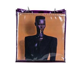 Vinyl LP Tote - Purple