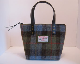 Harris tweed handbag McLeod tartan