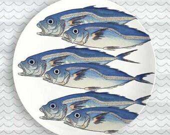 Fish 6 Fish melamine plate