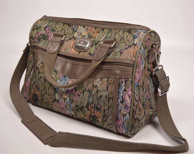 Vintage Jordache Floral Weekend Bag