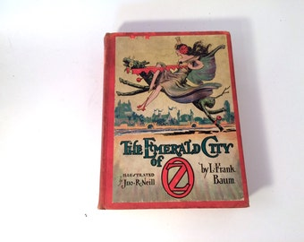 The Emerald City of Oz, L Frank Baum, 1920