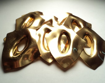 11 pcs. - Large brass findings - bf3