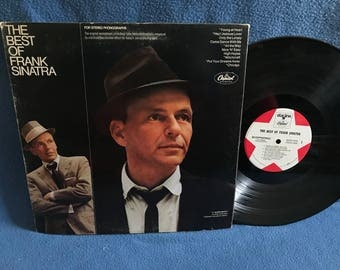 "Vintage, Frank Sinatra - ""The Best Of"", Vinyl LP, Record Album, Rat Pack, Classics, Witchcraft, Chicago, Young At Heart, Only The Lonely"