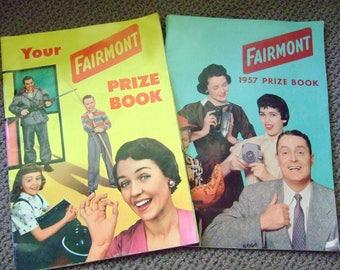 Vintage 50's Midcentury FAIRMONT gift catalogs (2)