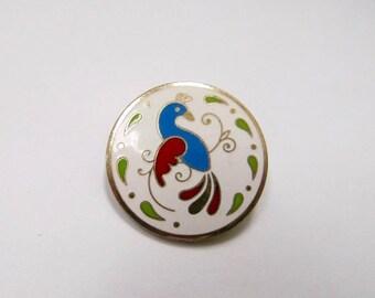 On Sale Vintage Enameled PA Dutch Hex Sign Pin Item K # 2741