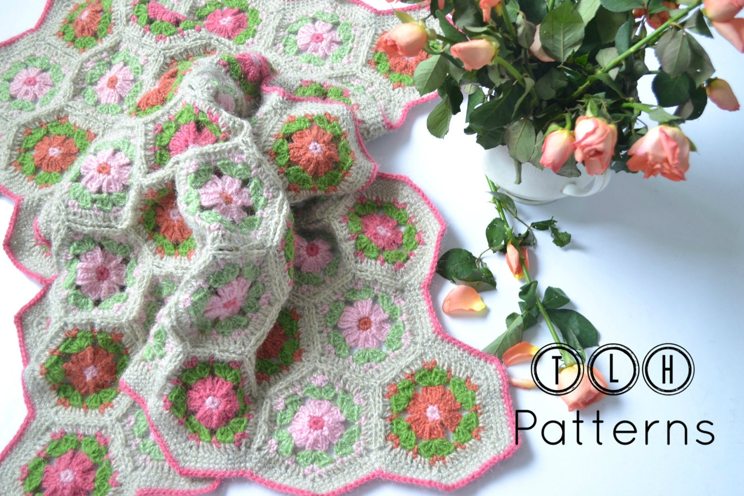 Crochet baby blanket pattern crochet blanket pattern crib this is a digital file bankloansurffo Image collections