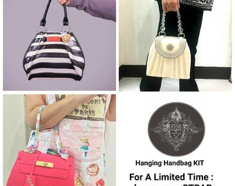 Hanging Handbag Cake - Complete Structure Kit - with Handle