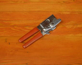 Vintage Swing-A-Way red can opener