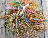 Teeswater Locks, Extra Long, Dyed, Tailspinning, 1 ounce, Doll Hair, Spin, Felt, Fleece, Color Play