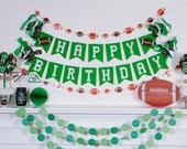 FOOTBALL BIRTHDAY BANNER / Football baby shower / Football banner / Football birthday party / Sports birthday party / Sports baby shower