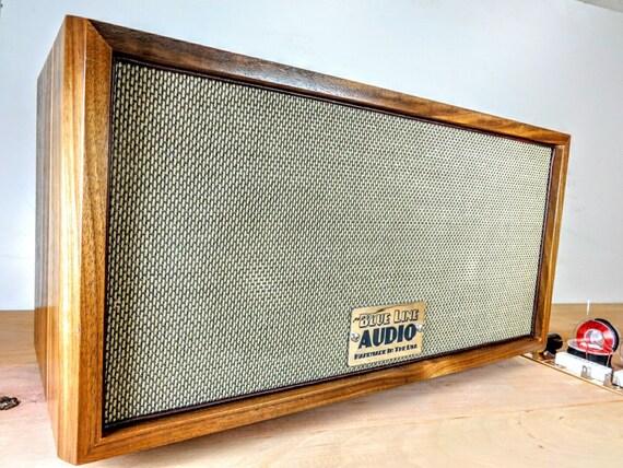 Bluetooth Speaker Handmade Retro Mid Century Modern Walnut
