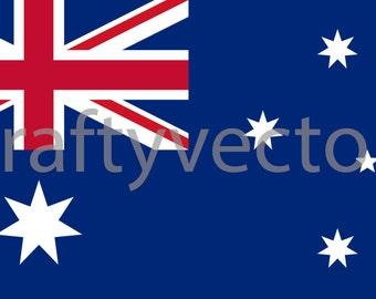 Australian Flag Vector File