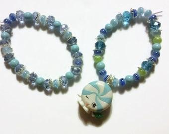 Season 2 Shopkins Charm Bracelet, Minnie Mintie #FF-014, Shopkins, Charm Bracelets, Dress up jewelry, shopkins jewelry, kawaii gifts, gift
