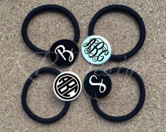 Disc Ponytail Holder & Bracelet