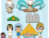 2016 Moses Clip art  Clipart Graphics  Commercial Use