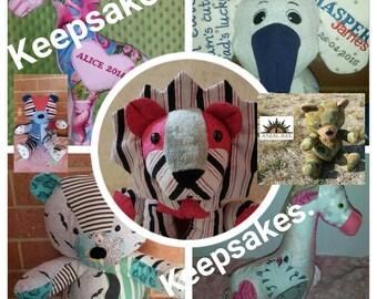 Keepsake bear elephant lion giraffe and more