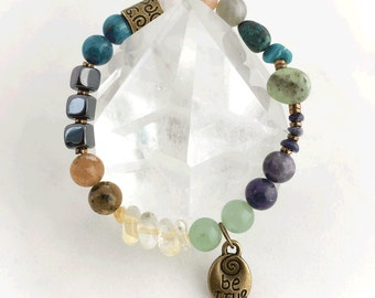 New Year's Resolution Crystal Energy Bracelet