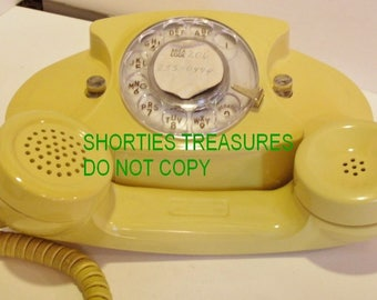 The Princess Phone, Bell Systems Vintage Rotary Dial Telephone