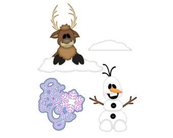 Snow Die Cuts, Winter Die Cuts, planner die cuts, scrapbook embellishment, Winter Scrapbook embellishments, die Cuts, Scrapbook Die Cuts