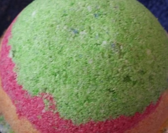 Passionfruit Lime Large Bath Bomb