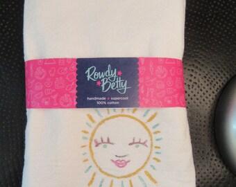 Sunny tea/kitchen towel