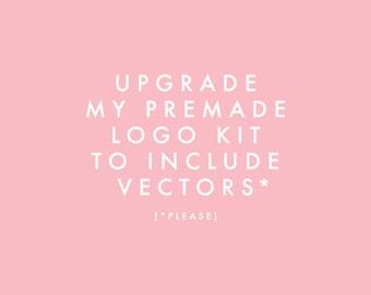 Vector Upgrade Premade Logo