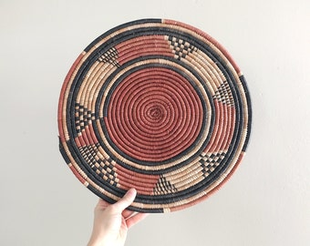 Vintage Coiled Tray Native American Southwest