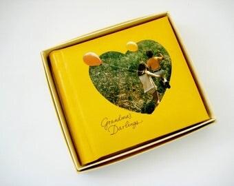 Vintage Brag Book, Vintage Grandma's Brag Book, Hallmark Brag Book, Vintage Grandma's Darlings Photo Book, Hallmark Photo Book Grandma's