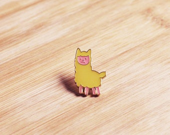 ANIMAL | Cute Llama Enamel Lapel Pin