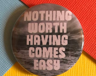 Success Motivation pinback button wealth badge successful magnet work hard patch winning pins strong person lapel pin quote gift for winner